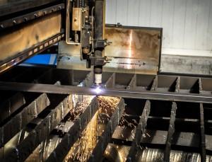 Cięcie stali przy pomocy wycinarki plazmowej CNC Bochnia