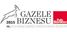 Logo Gazel Biznesu - Puls Biznesu - Gomar Stal nagradzany Gazelami Biznesu